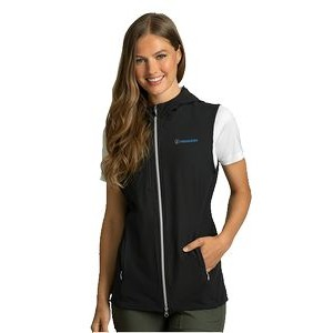 Women's Greg Norman™ Windbreaker Full-Zip Hooded Vest