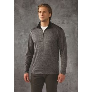 Paragon Men's Aspen Heathered Performance 1/4 Zip Pullover