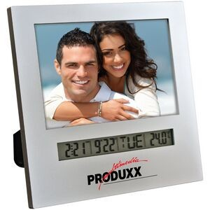 Photo Frame with Multifunction Digital Display